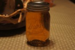 Mason Jar Of Apple Pie