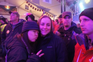 Anika, Danielle Craig, Kramer & Justin @ Chase On The Lake Miller Lite Tent