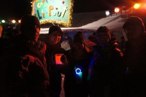 Justin, Danielle, Ankia & Pat @ Camp Le Pout
