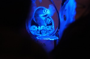 Chase The Pout Ice Sculpture