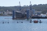 Sub In Dry Dock