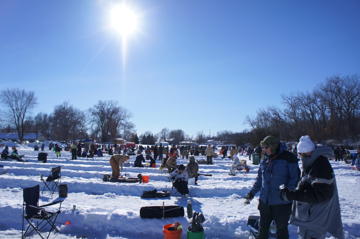 2014 Chaska Fire Department Ice Fishing Contest